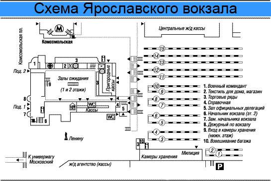 схема вокзала ладожского