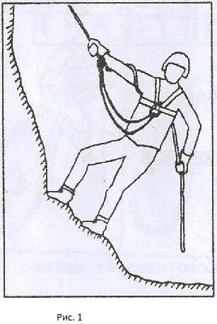 спуск спортивным способом