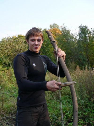 Чингачгук - добытчик огня