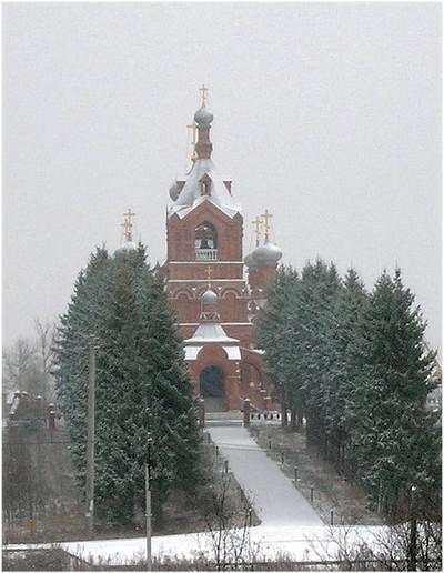 Крестовоздвиженская церковь в селе Дарна 1899 (восст.2001)
