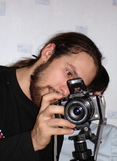 Фотограф творит...