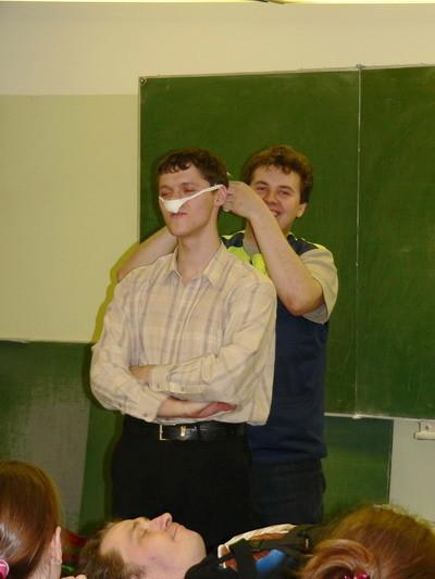Тампонирование при носовых кровотечениях