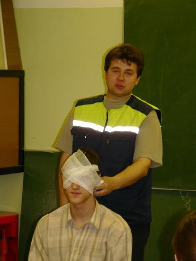 Повязка применяемая при повреждении глаз