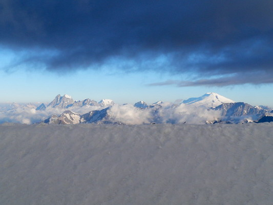 Вид на приэльбрусье