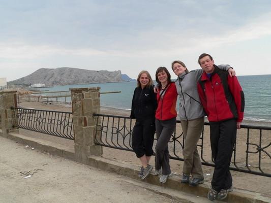 В день отдыха мы пошли гулять на мыс Алчак