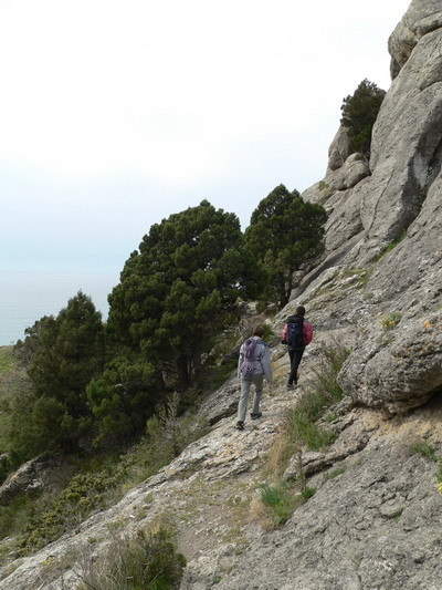 Первый день. Подходим на скальные занятия на Болван.